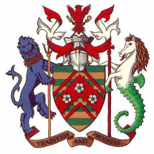 Arms of East Riding