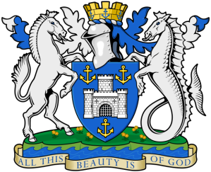 Arms of the Isle of Wight