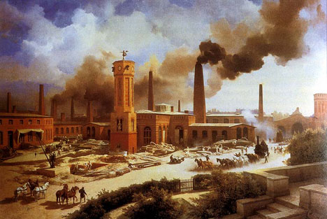 Cotton Mill - Industrial Revolution