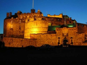 Edinburgh Castle - Floodlit