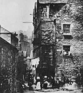 High School Yards Wynd, Edinburgh, c. 1845