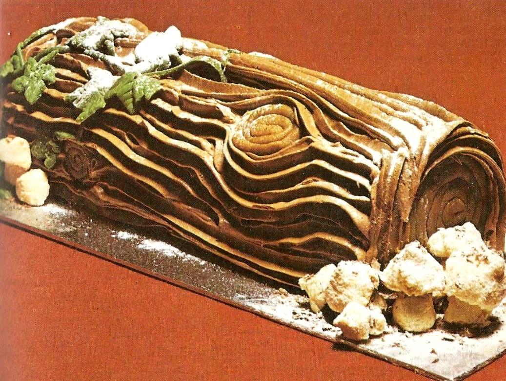Chocolate Log Image Granny Robertson S Cookbook