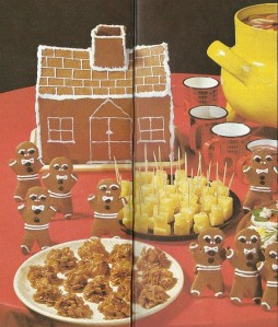 Gingerbread Men & House (image)