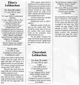Lebkuchen - Recipe
