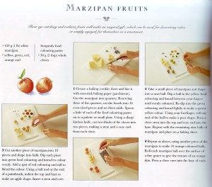 Marzipan Fruits 1