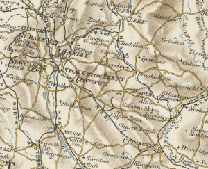 Dilhorne - Map