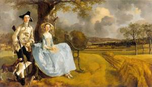 Mr and Mrs Andrews, Gainsborough (1748-49) Suffolk