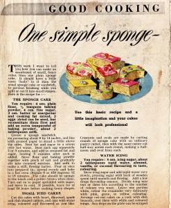 One Simple Sponge