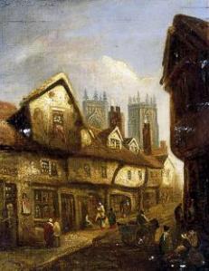 Petergate & Minster c. 1850