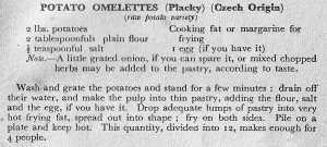 Potato Omelette - TKF