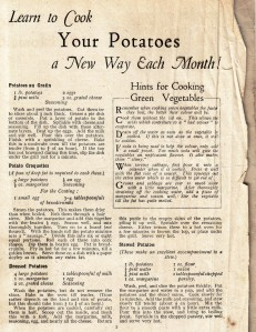 Your Potatoes