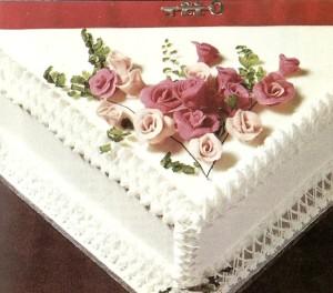 Marzipan Flowers - image
