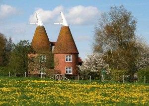 Oast Houses, Frittenden, Kent.