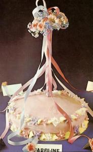 Maypole Birthday Cake (image)