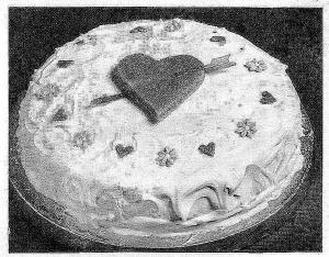 Valentine Hearty Cake (image)