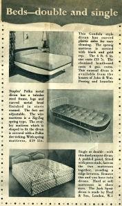 Beds - double & single