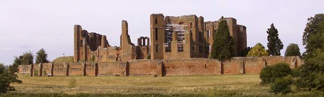 Kenilworth Castle, Panorama