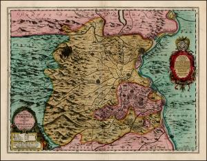 Principality of Orange - Map