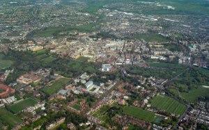 Cambridge - Aerial