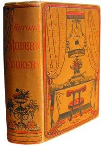 Eliza Acton Cookbook, 1845