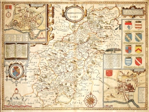 Northamptonshire - John Speed, 1610