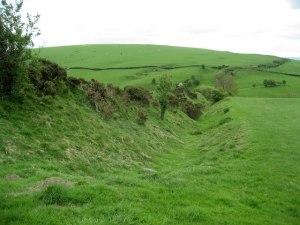 Offa's Dyke, near Clun, Cheshire