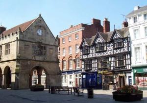 Shrewsbury Market Hall - Shropshire