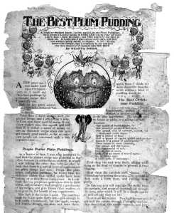 The Best Plum Pudding 1912