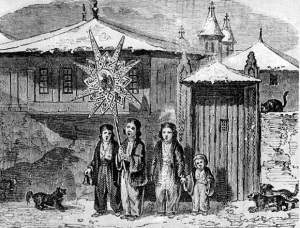 Carol Singers, Bucharest 1842