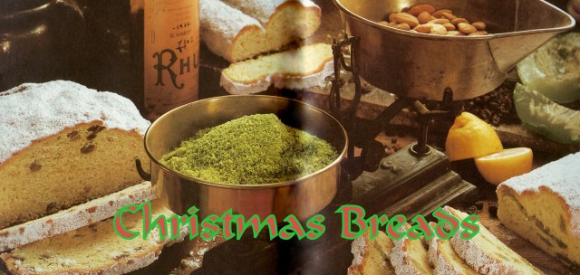 Christmas Breads - Title