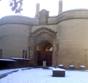 Nottingham Castle.
