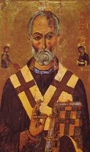 St Nicholas Icon, Sinai, 13th century