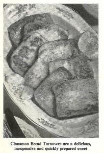 Cinnamon Bread Turnovers