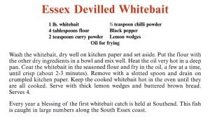 Essex Devilled Whitebait