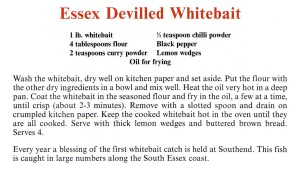 Essex Devilled Whitebait