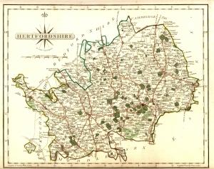 Hertfordshire, Cary, 1787