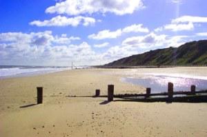 Norfolk, beach-&-sky