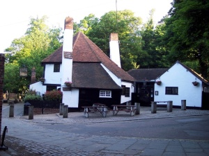 Ye Olde Fighting Cocks pub, St Albans