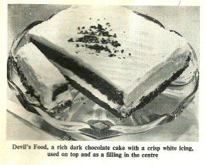 Devils Food Cake - image