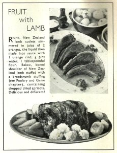 Fruit with Lamb