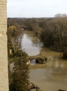 River Avon from the Castle