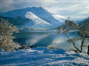 Ballachulish in Winter, Western Highlands