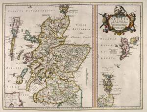 Blaeu - Atlas of Scotland, 1654