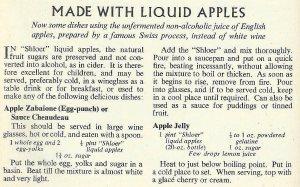 CWW - Liquid Apples