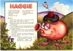 Haggis Recipe - cartoon