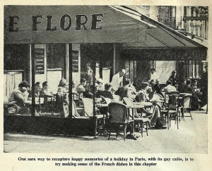 A gay Parisienne Cafe
