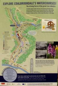 Coalbrookdale Watercourse Map, Shropshire 015