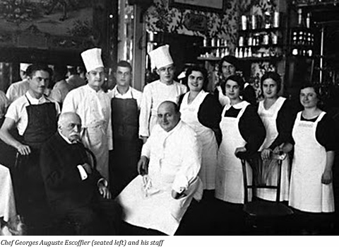 Georges auguste escoffier king of chefs chef of kings for Chef en frances
