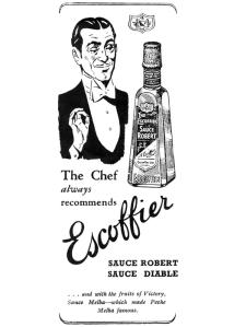 Sauce Robert, Escoffier