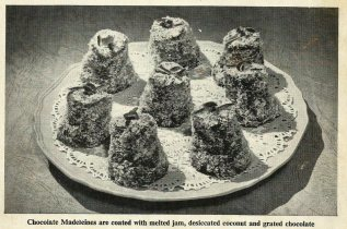 Chocolate Madeleines - image